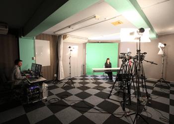 グリーンバック完備スタジオ「C.スクエア横浜」を設置。