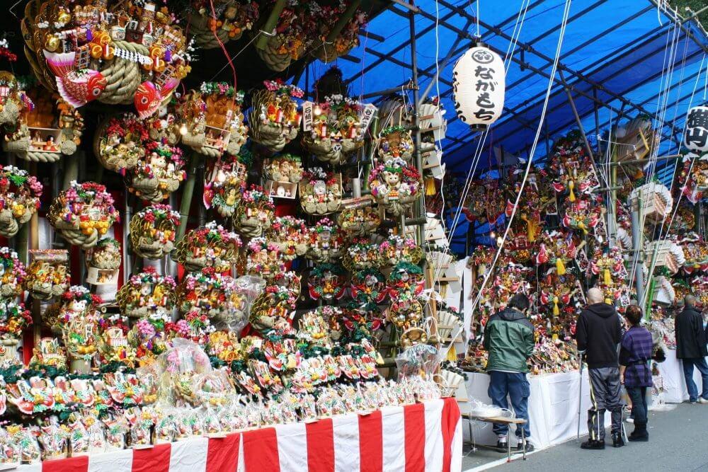 今年も大盛り上がり! 横浜の酉の市