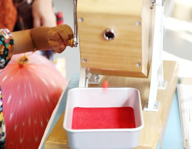 印刷の際に重要な役目を果たす色玉