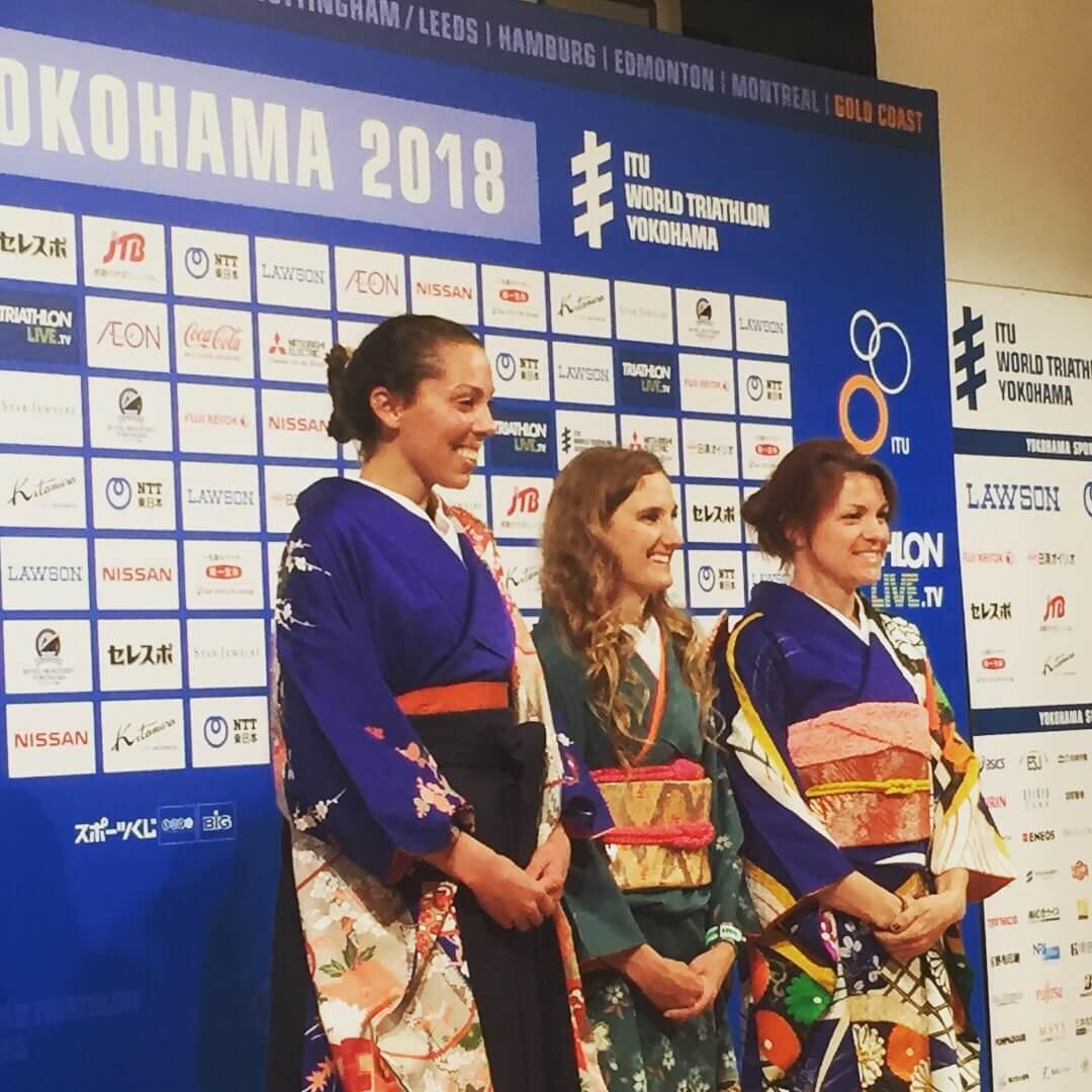 「世界トライアスロンシリーズ横浜大会2018」に協賛しました