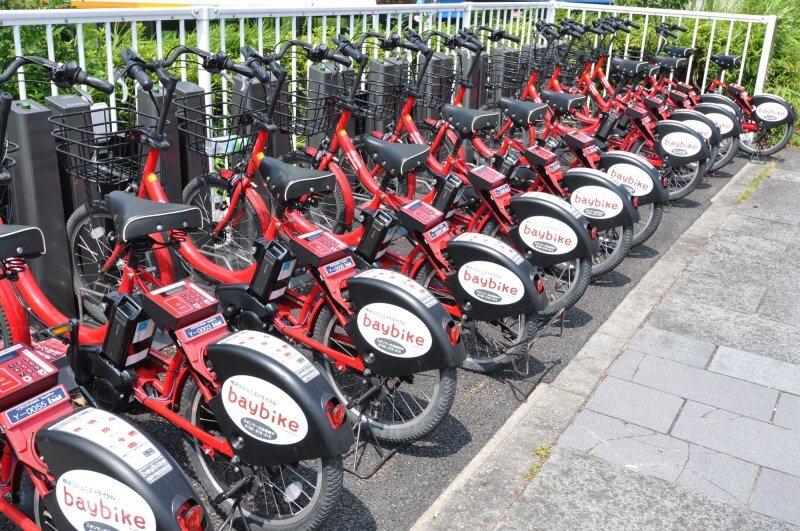 みなとみらいエリアの移動は横浜コミュニティサイクル「baybike」が便利!