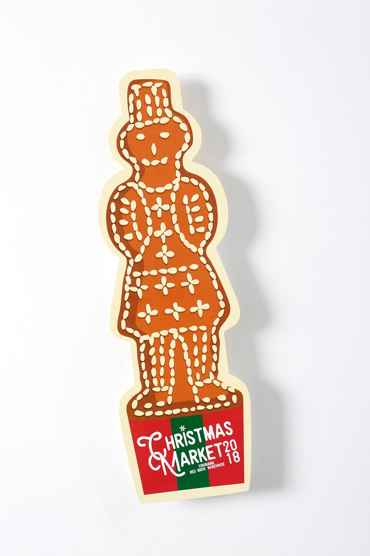 【最新事例紹介】株式会社横浜赤レンガ様 「クリスマスマーケット型抜きチラシ」