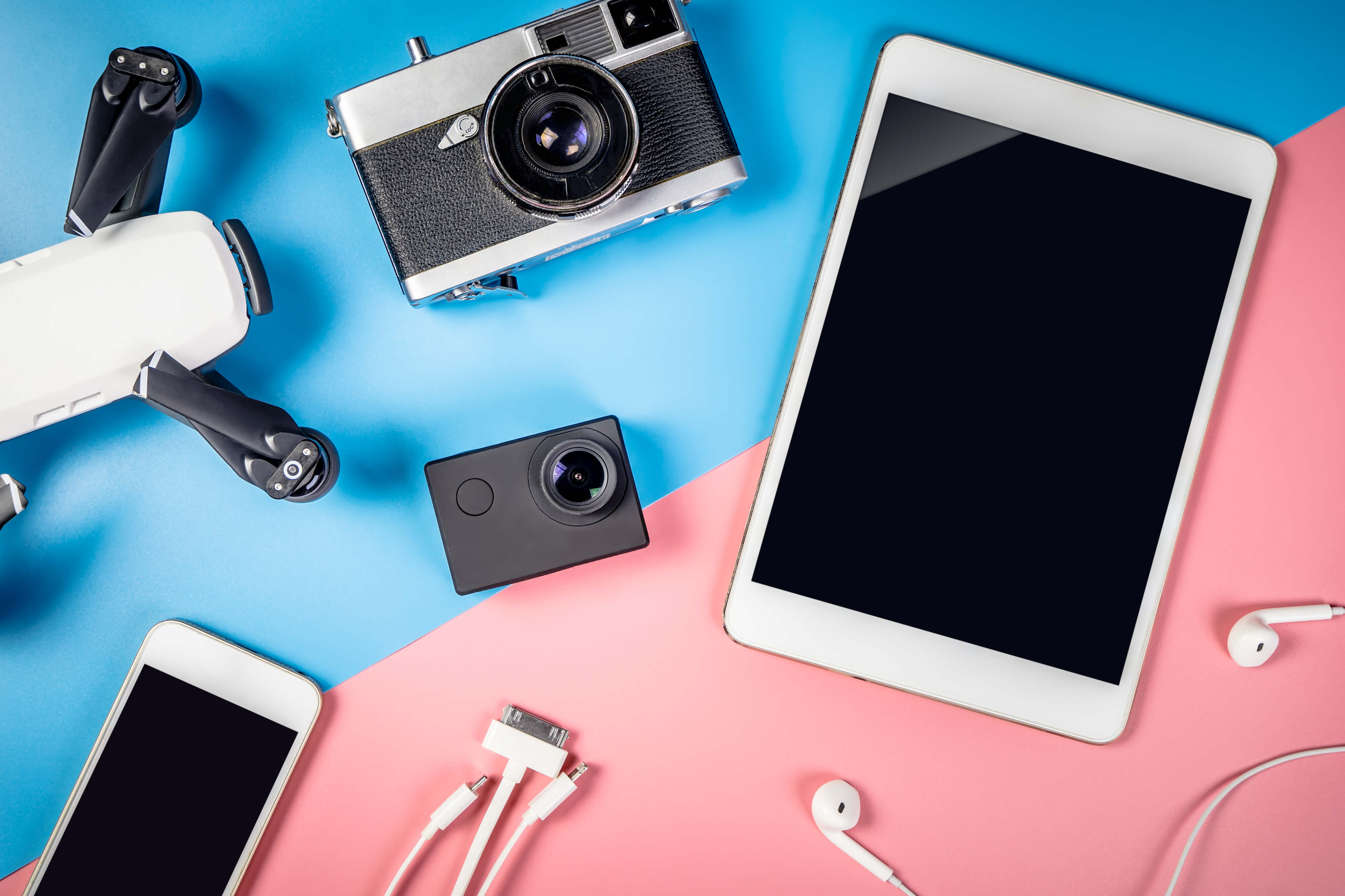 【無料アプリも!!】Instagramで映える写真を作るガジェットまとめ