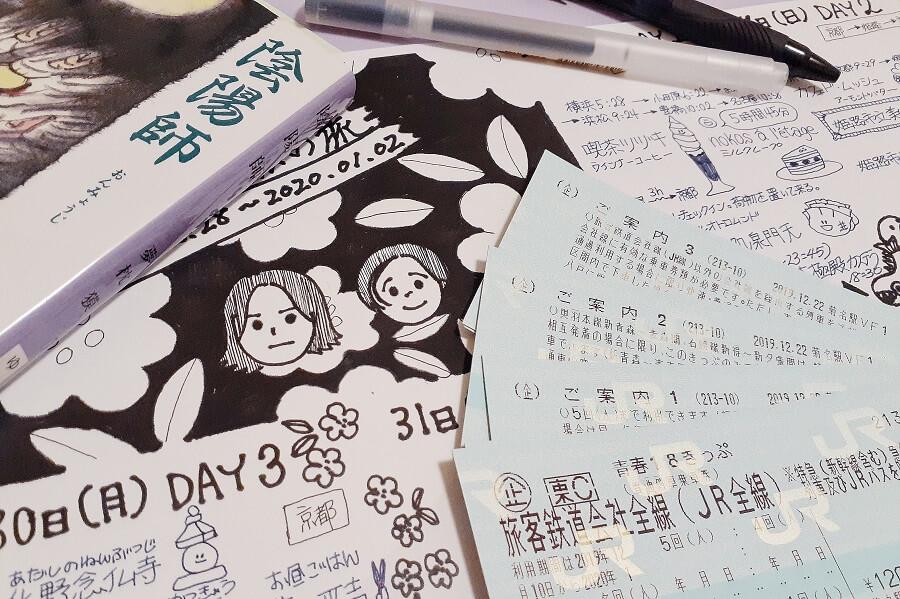 青春18きっぷで旅行に行ってみた!