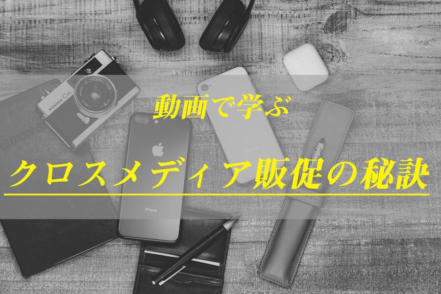 【クロスメディア成功事例を大公開】SNS最新マーケティングを動画で徹底解説