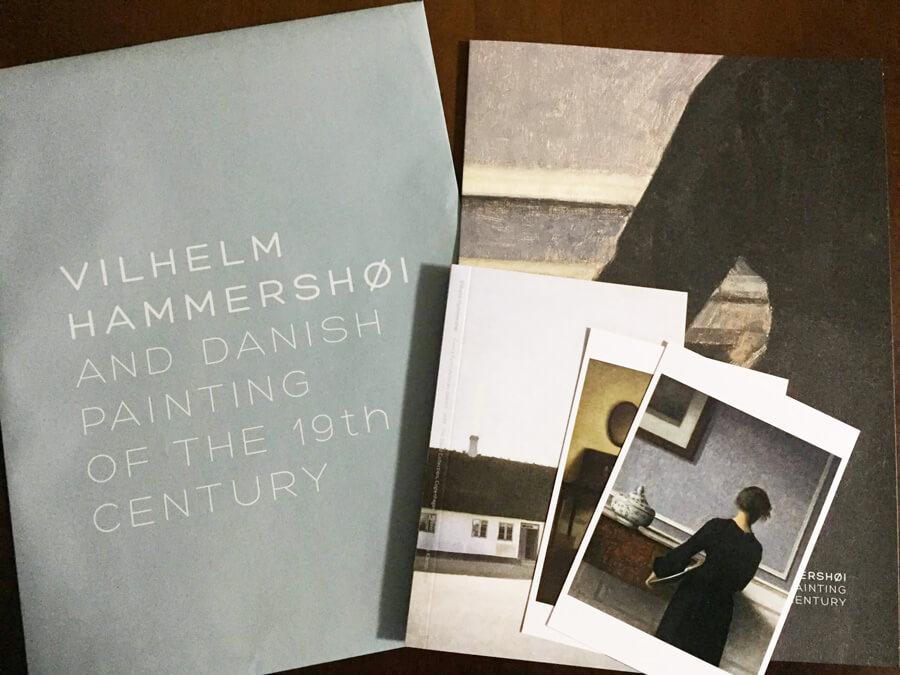 ベルヘルム・ハマスホイ展 展覧会グッズレポート こだわりの紙ものグッズをご紹介!
