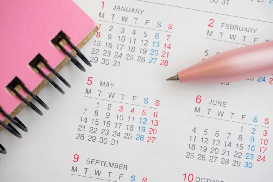 """【来年は、どうなる?!カレンダーの行方!】カレンダー製作""""校正""""のポイント"""