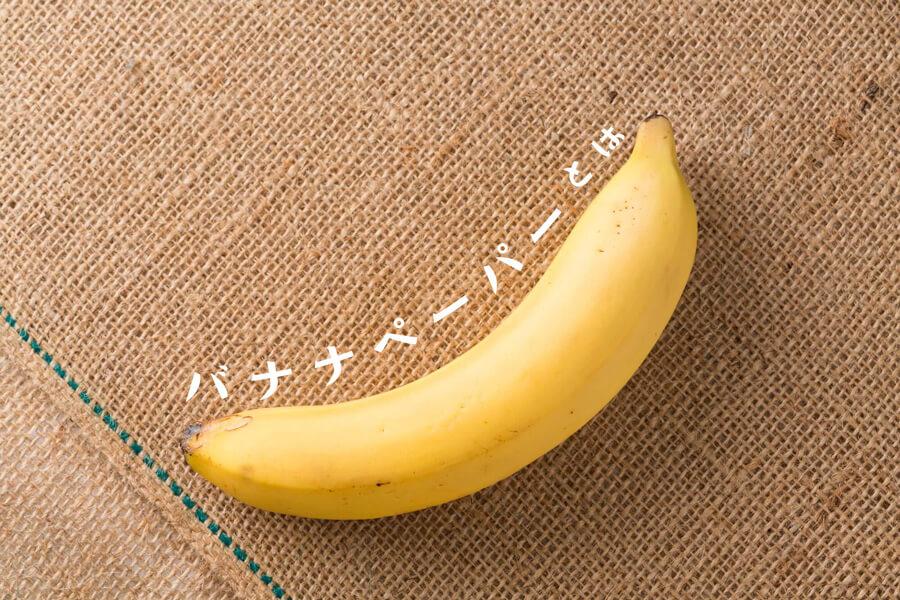 【バナナペーパー】フェアトレードな紙のご紹介
