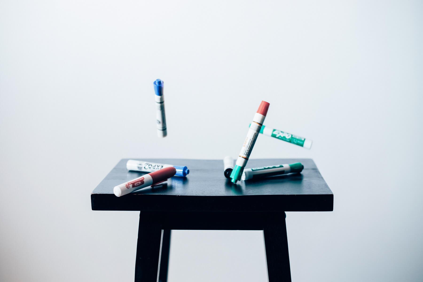 筆記具でお馴染み「マーカー」の概要と歴史を探ってみた